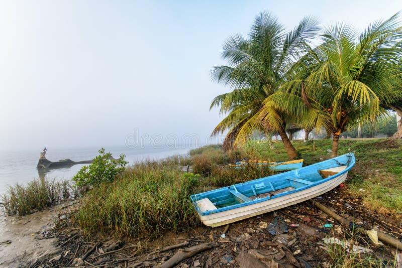 Mexicansk fiskebåt fotografering för bildbyråer