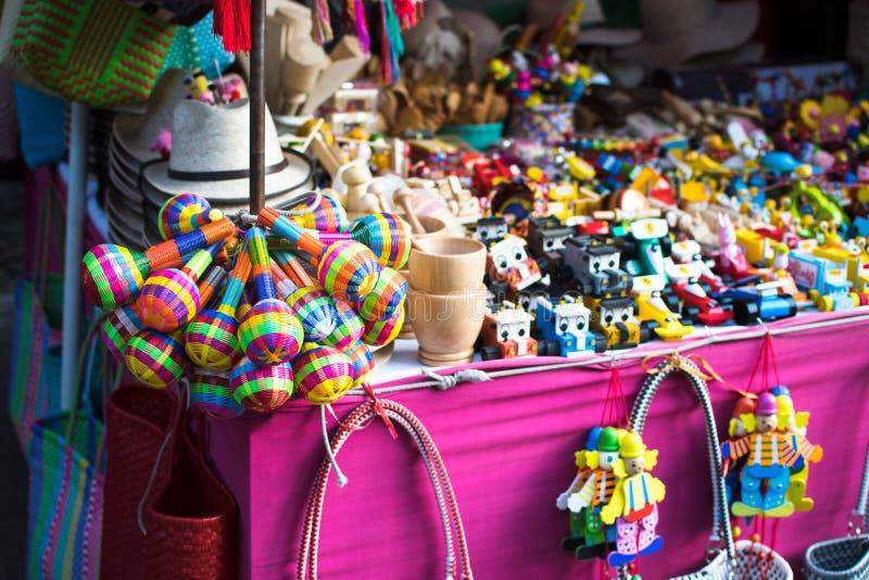 Mexicansk leksakmarknadsplats royaltyfri bild