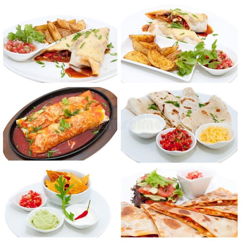 Mexicansk mat royaltyfria bilder