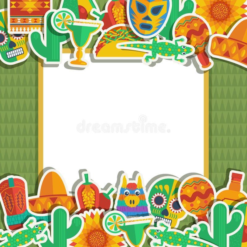 Mexicansk ram royaltyfri illustrationer