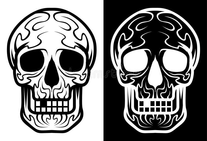 """Mexicansk sockerskalle, illustration för materiel """"för illustration†för materiel """"för Diameter de los Muertos symbolsset†stock illustrationer"""