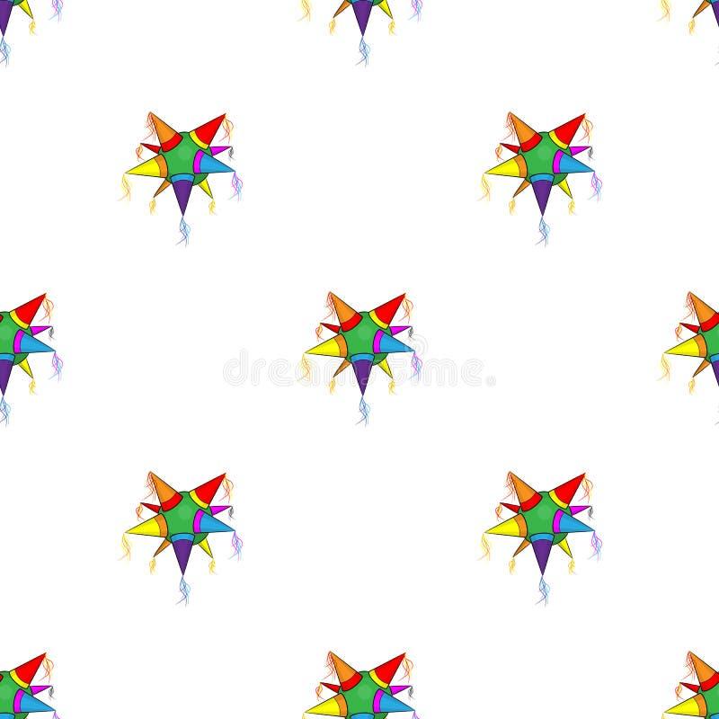 Mexicansk stjärnapinatamodell royaltyfri illustrationer