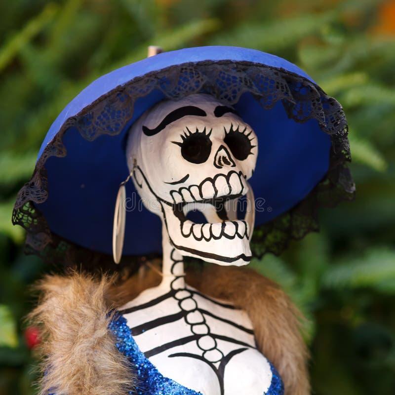 Mexicanska Catrina royaltyfri fotografi