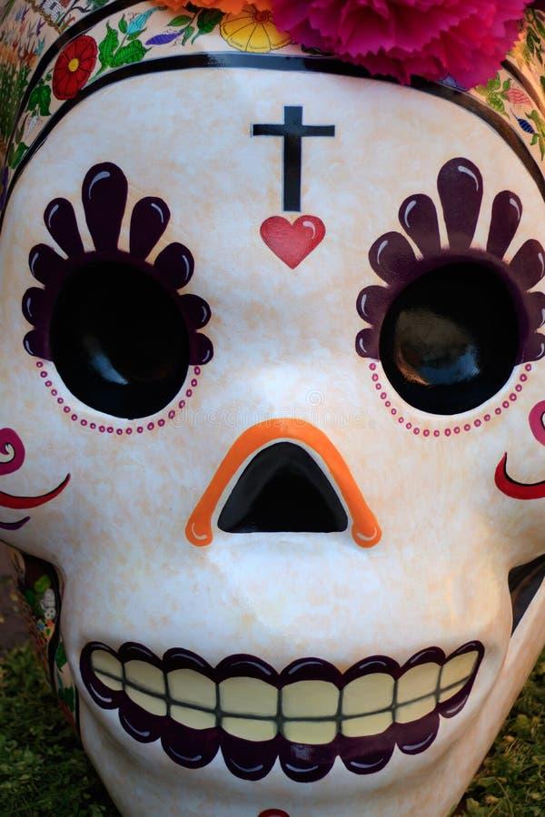 Mexicanska Catrina död dag arkivfoton