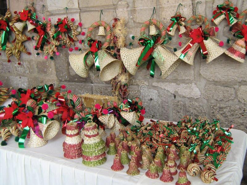 Mexicanska julhemslöjder, fotografering för bildbyråer