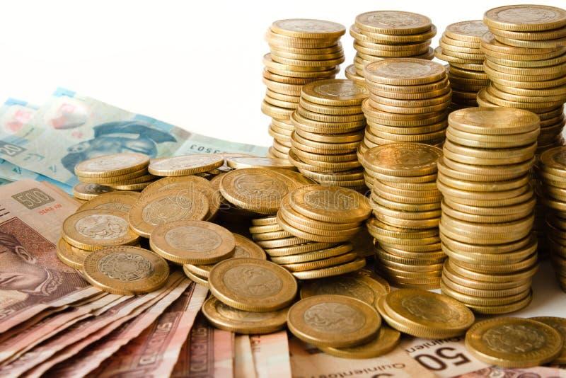 Mexicanska pesos royaltyfri bild