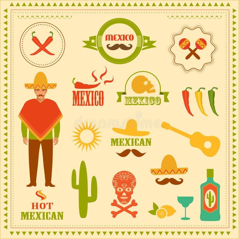 mexico illustration de vecteur
