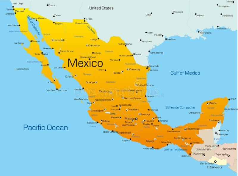 Mexico royalty-vrije illustratie