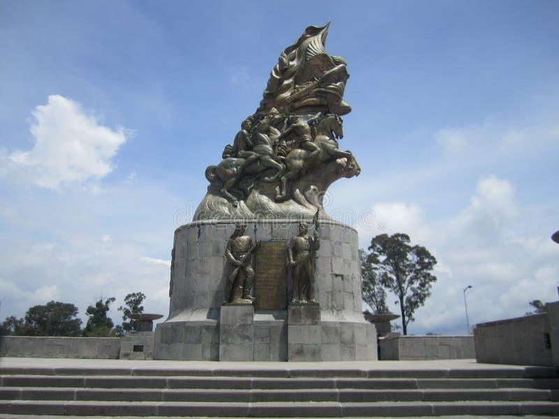 Mexico, centrum van de stad van Puebla royalty-vrije stock afbeeldingen