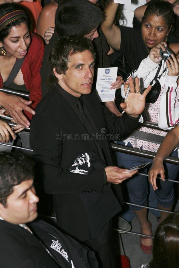 MEXICO CITY Actor Ben Stiller royalty free stock images