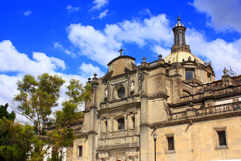 Download Mexico city cathedral stock photo. Image of church, architecture - 6804320