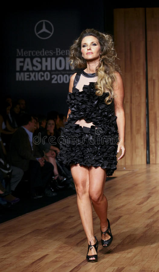 Download Mexico City Isabella Camil Walks The Runway Editorial Photography Image Of Dresser People