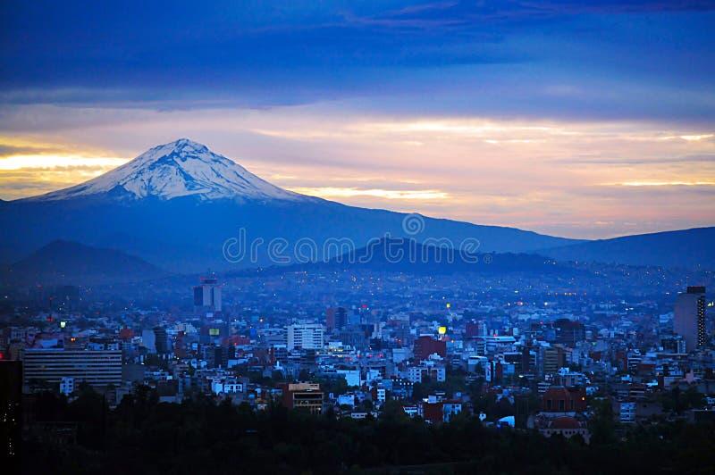 Mexico City Landscape stock image