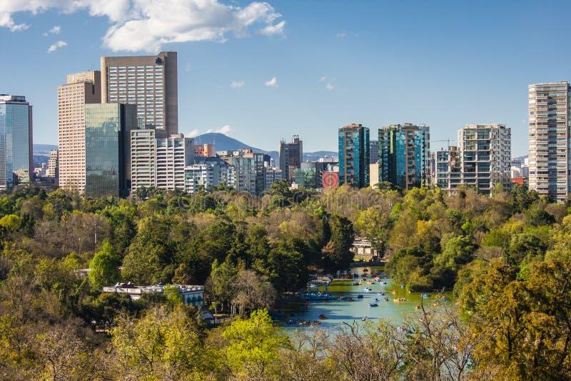 Mexico City, main Plaza stock photo
