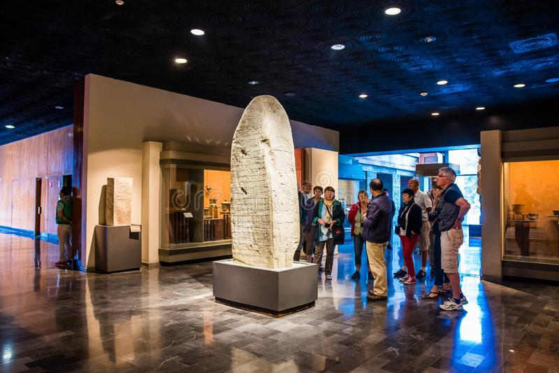 Mexico City, Mexico - November 1, 2018. National Museum of Antropology. Museo Nacional de Antropologia royalty free stock photo