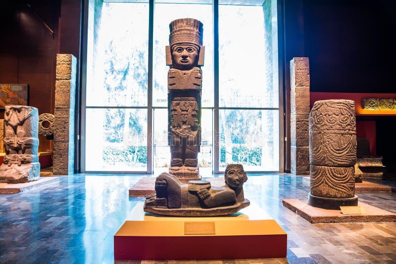 Mexico City, Mexico - November 1, 2018. National Museum of Antropology. Museo Nacional de Antropologia stock photos