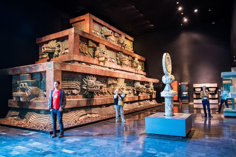Mexico City, Mexico - November 1, 2018. National Museum of Antropology. Museo Nacional de Antropologia royalty free stock photos