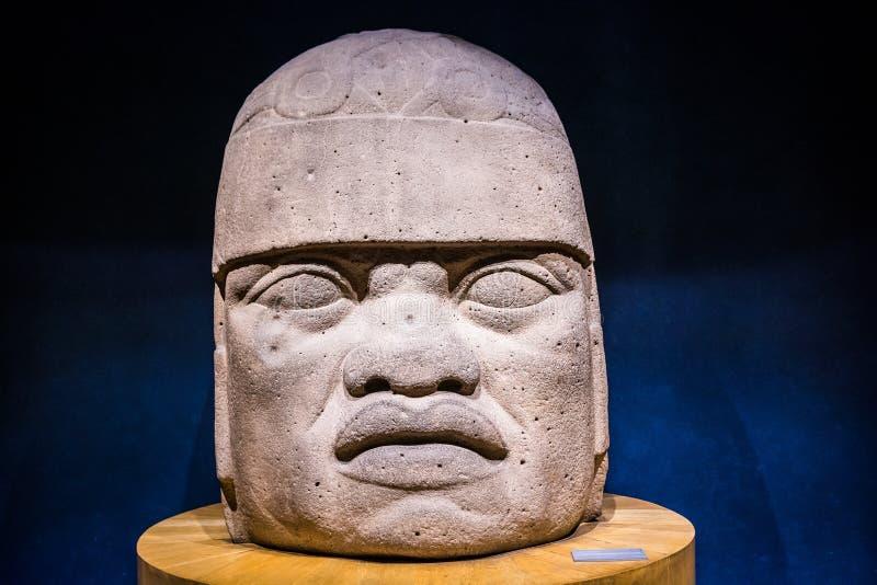 Mexico City, Mexico - November 1, 2018. National Museum of Antropology. Museo Nacional de Antropologia stock images