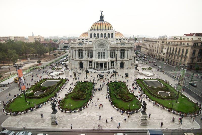 Mexico City, Mexico - 2012: Palacio de Bellas Artes (Palace of Fine Arts). Mexico City, Mexico - 2011: The Palacio de Bellas Artes Palace of Fine Arts is a stock image