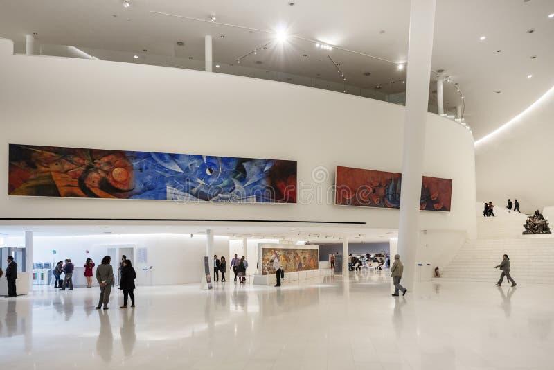 Download MEXICO CITY   NOV 1, 2016: Interior Of Soumaya Museum Editorial  Stock Image