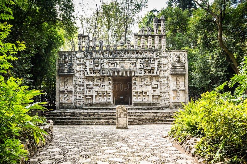 Mexico City, Mexico - November 1, 2018. National Museum of Antropology. Museo Nacional de Antropologia stock image