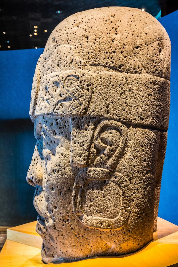 Mexico City, Mexico - November 1, 2018. National Museum of Antropology. Museo Nacional de Antropologia royalty free stock photography
