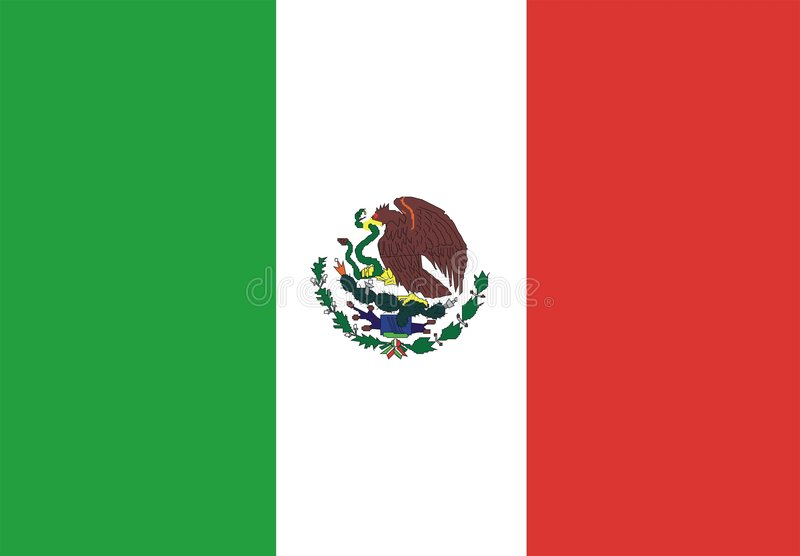 Download Mexico flag stock vector. Illustration of education, insignia - 7610241