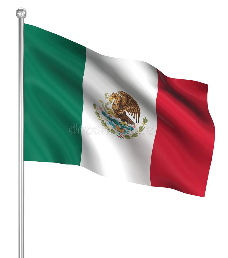 Country flag - Mexico vector illustration
