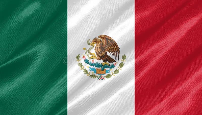 Mexico flagga royaltyfri fotografi