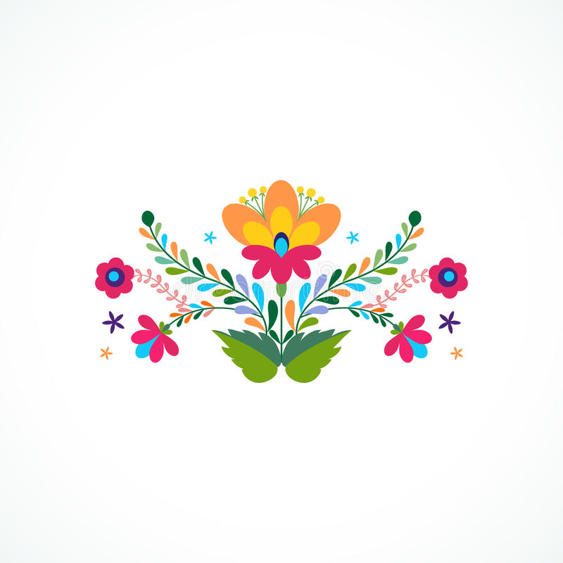 Mexico flowers ornament vector illustration stock vector image download mexico flowers ornament vector illustration stock vector image 74134284 stopboris Images