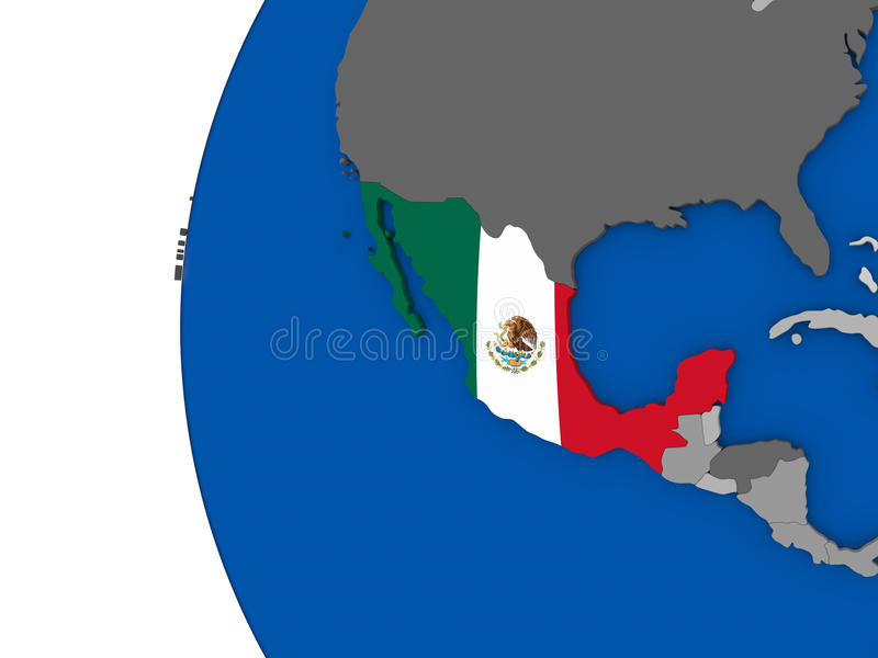 Mexico on globe stock illustration illustration of south 84445012 download mexico on globe stock illustration illustration of south 84445012 gumiabroncs Images