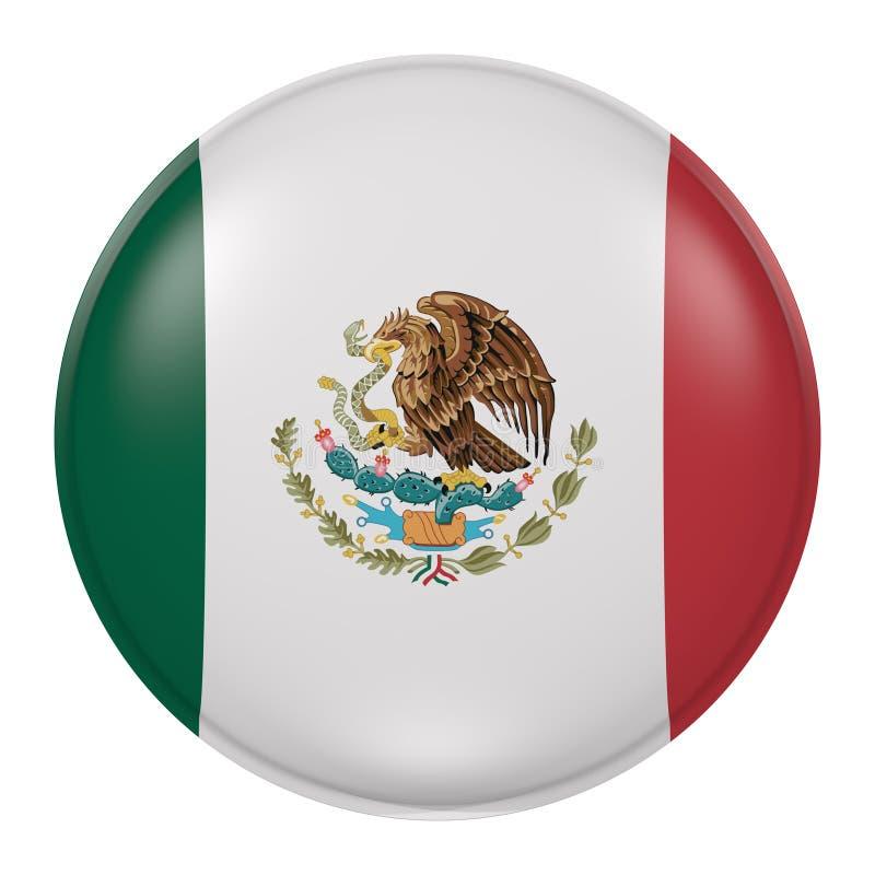 Mexico knapp stock illustrationer