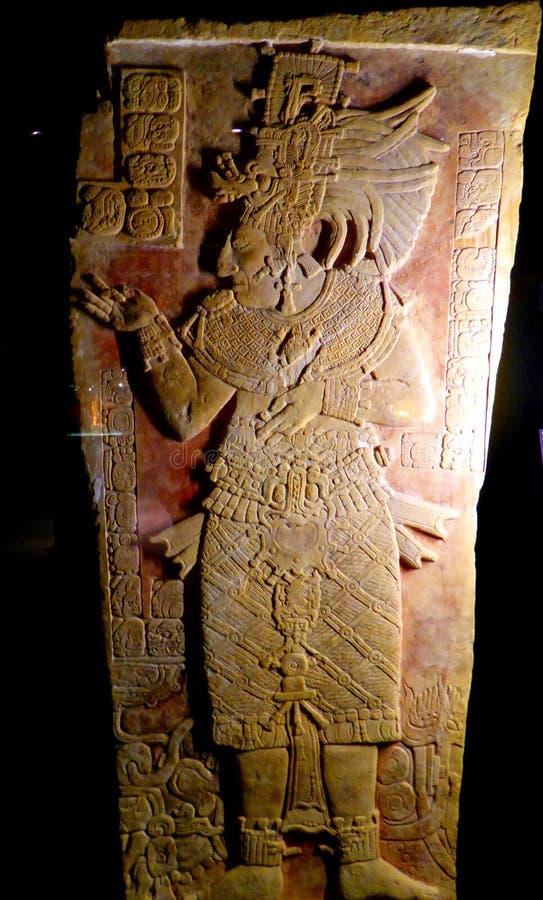 Mexico Maya art acient statue statue stock photos