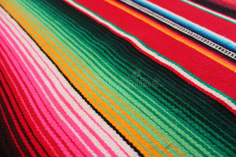 Download Mexico Mexican Traditional Cinco De Mayo Rug Poncho Fiesta Background With Stripes Stock Photo