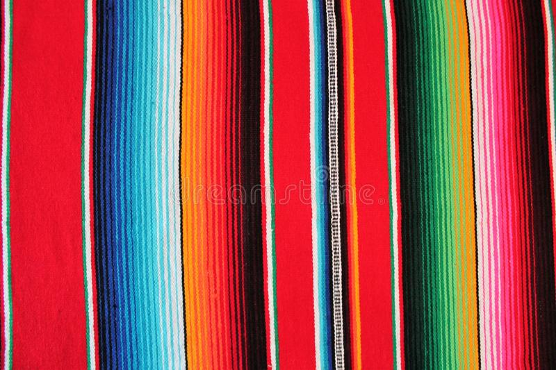 poncho background Mexico Mexican traditional cinco de mayo rug fiesta with stripes royalty free stock photography