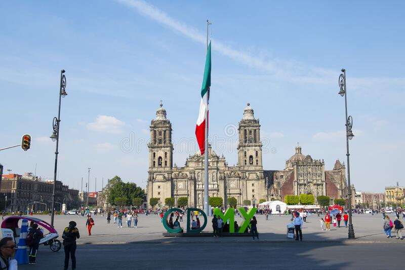 Images Of Zocalo In Mexico Christmas 2021 Zocalo And Metropolitan Cathedral Mexico City Mexico Editorial Stock Photo Image Of Constitution Landmark 171637568