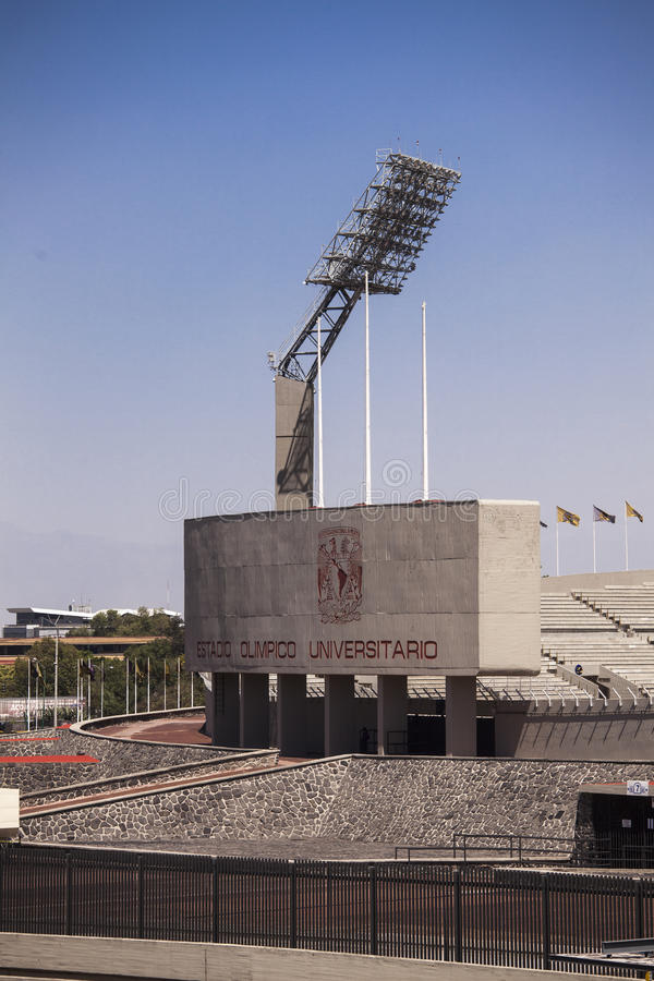 Mexico Olympic stadium stock photos