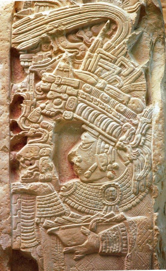 mexico palenque fördärvar royaltyfri bild