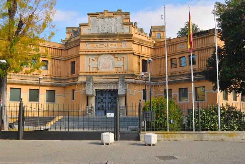 Mexico Pavilion royalty free stock photo