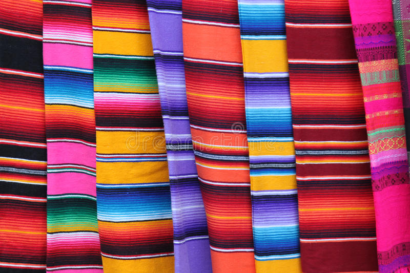 Mexico poncho stock photo