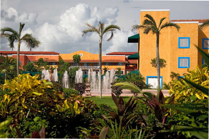 Download Mexico Resort Hotel Stock Image - Image: 1362981
