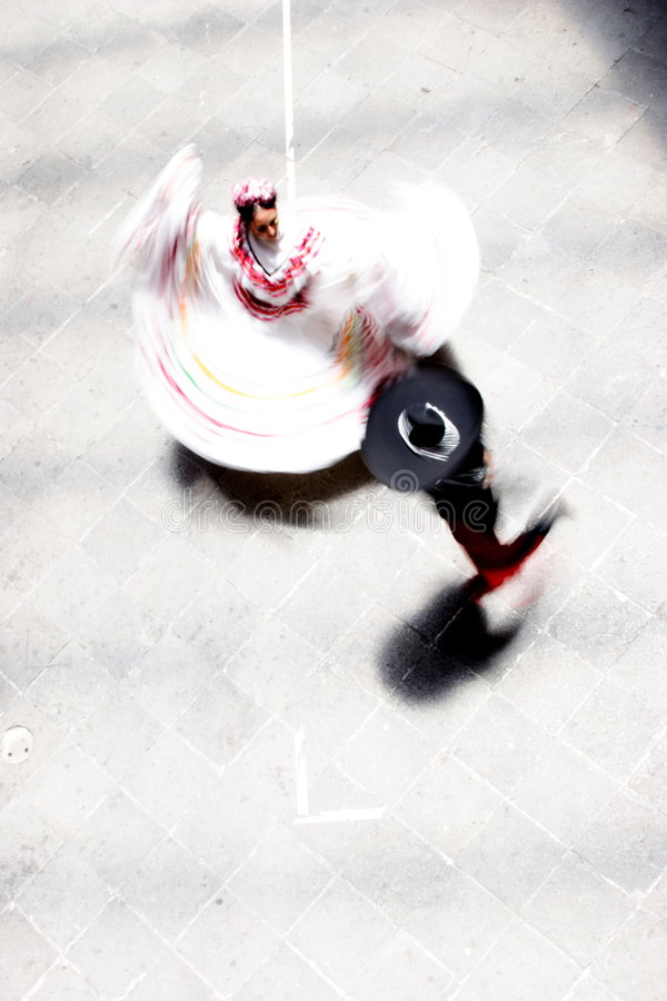 Mexico's Dance royalty free stock photography