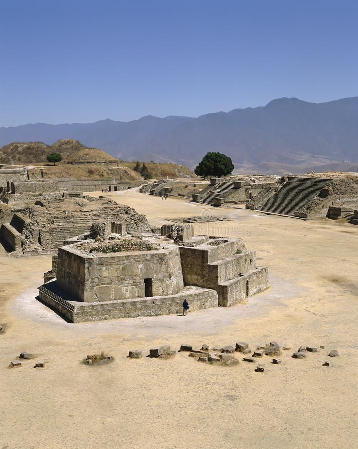 mexico Site de Monte Alban Archaelogical photo libre de droits