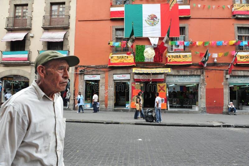 Mexico - stad - Cityscape royaltyfri foto