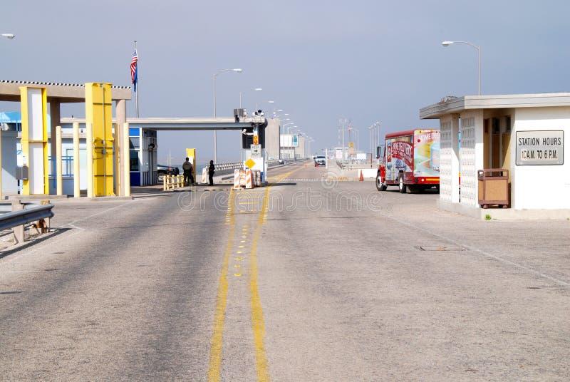 Mexico-US border. Amistad, Texas, 03/30/2012 stock photo