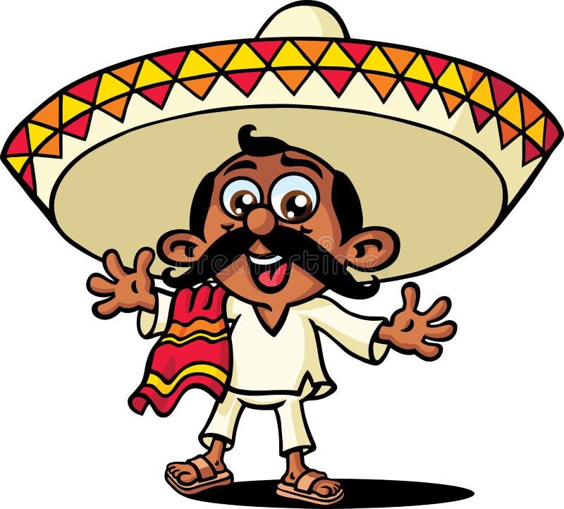 mexikan vektor illustrationer