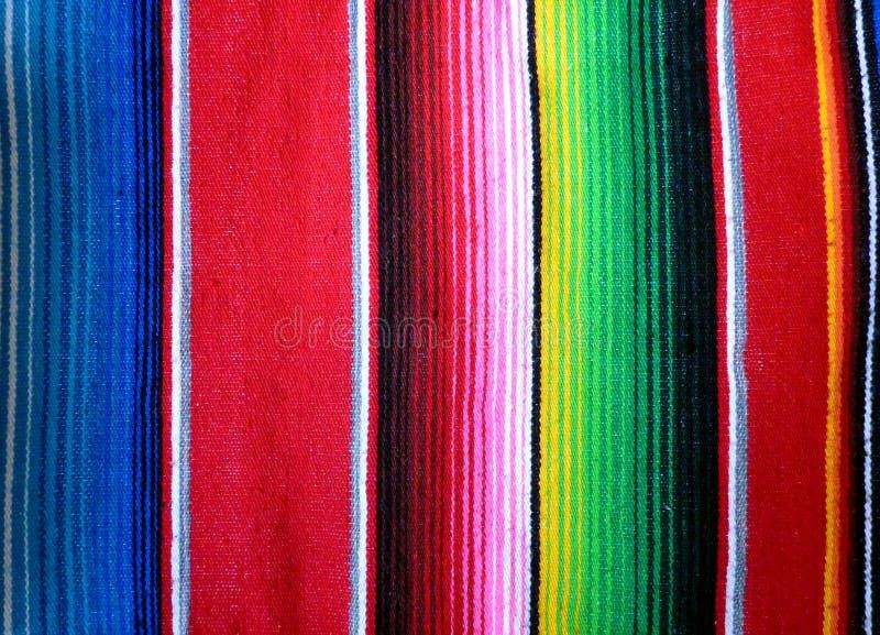 Mexikan Poncho Background arkivfoton