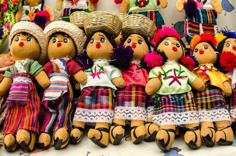 Mexikanen Handcrafts arkivbilder