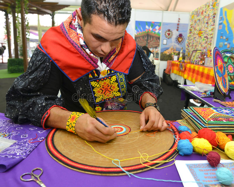 Mexikanen Handcrafts royaltyfria foton
