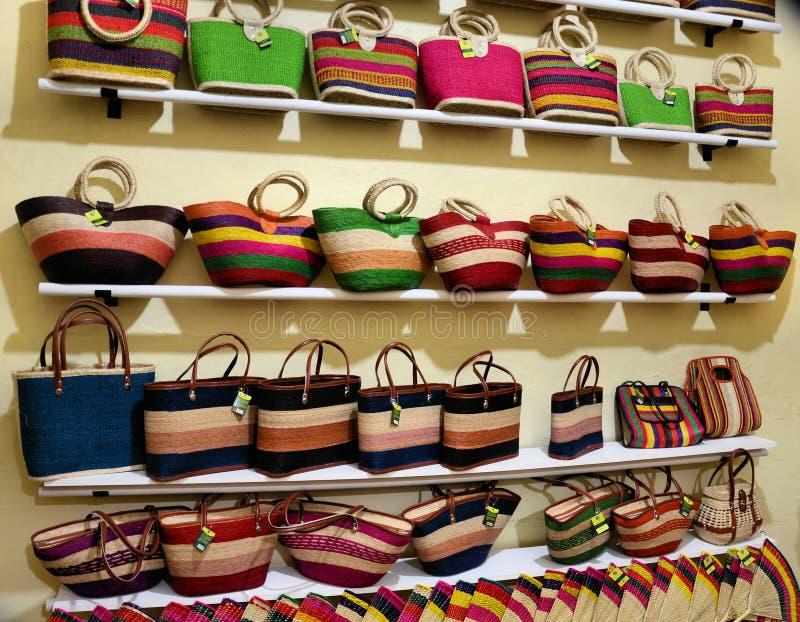 Mexikanen handcrafts på ett lager royaltyfri foto